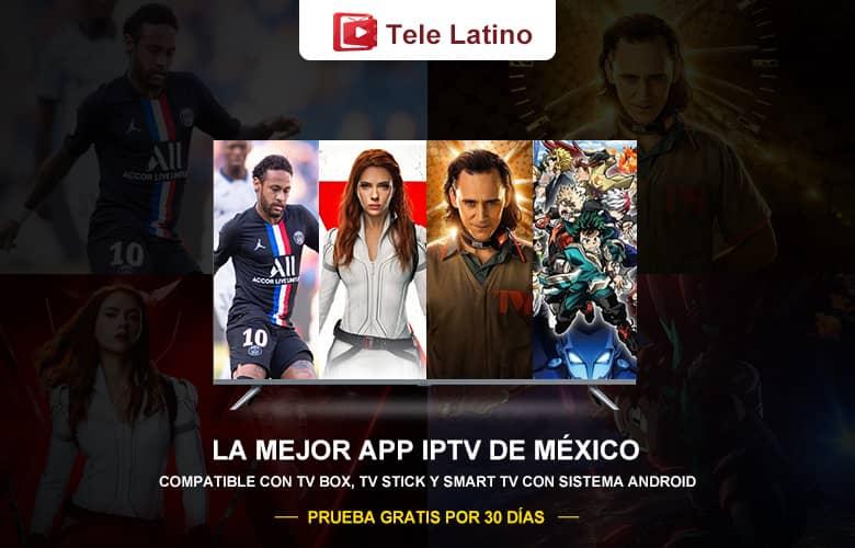 Tele Latino IPTV Para Ver Películas Series